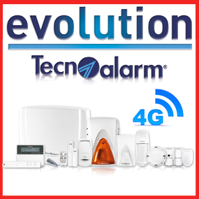 Tecnoalarm Evolution 4G Radio